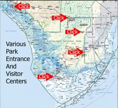 Park Entrances and visitor centers