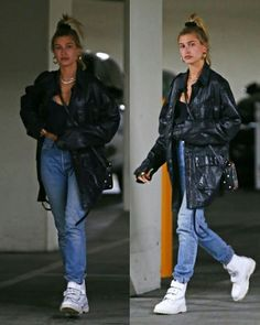 Hailey leaving The Montage Hotel in Beverly Hills, CA. (April 18, 2018)