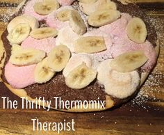 Recipe Nutella, Marshmellow, Banana Pizza by TheThriftyThermomixTherapist - Recipe of category Desserts & sweets