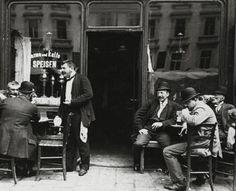 1905 - 1914, Fiaker in der Mittagspause, Graben Foto: Emil Mayer