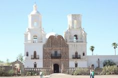 Mission San Xavier del Bac, Tucson via Full House blog