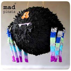 spider pinata created by mad pinata!
