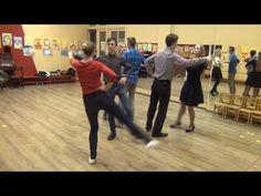 """Схема танца """"Краковяк""""."""