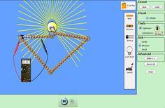 Circuit Construction Kit (DC Only), Virtual Lab Screenshot