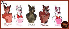 FNAFNG_Foxy+Versions+by+NamyGaga.deviantart.com+on+@DeviantArt