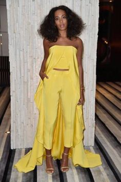 Solange Knowles is really stepping up her style #fashion #women #style
