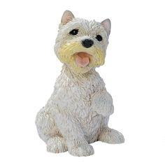 Terrier Bone Digging Dog Canine Garden Sculpture Statue