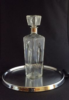Marvelous A Personal Favorite From My Etsy Shop  Https://www.etsy.com/listing/251658927/vintage Schenley Whiskey Clear Glass  | Liquor Decanters U0026 Bottles | Pinterest ...