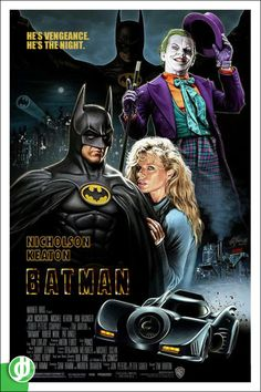 Batman Tim Burton, 1989 Poster designed by Jidé Joker Batman, Batman Film, Batman And Superman, Spiderman, Batman Artwork, Batman Wallpaper, Movie Poster Art, Film Posters, Keaton Batman