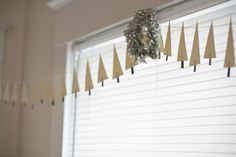 Christmas Tree Garland (by These Threads)