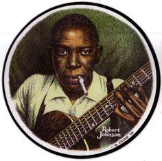 Robert Johnson by R. Crumb