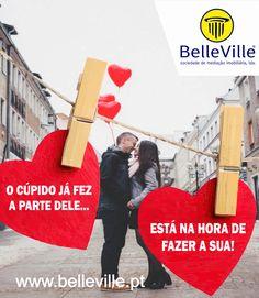 Feliz Dia dos Namorados :D  Encontre o panorama perfeito para a sua história de amor <3 em | www.belleville.pt |  #diadosnamorados #14defevereiro #comprarcasa #ninhodoamor #amor #sãovalentim