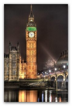 Big Ben, London  2 months and counting!