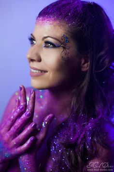 Mad Dame Photography Glitter Sessions #portrait #photography