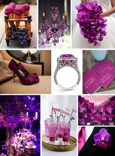 RADIANT ORCHID MOODBOARD ( via Zouch & Lamare)   What are some reasons you believe Pantone chose this as Color of the Year?