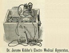 Dr. Jerome Kidder's Electro Medical Apparatus.