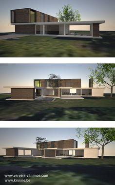 Voorontwerp voor Ververs & Van Impe Interieurarchitecten in samenwerking met Michael Kruijne