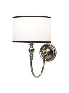 Vintage Retro Bad Wandleuchte mit rundem Lampenschirm Breite 22,5 cm Höhe 31 cm Tiefe 28 cm E14 - 35 Watt - 220 Volt badelaedchen