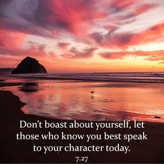 JULY 27: Don't boast about yourself, let those who know you best speak to your character today. @horoscope @astrology @quotes