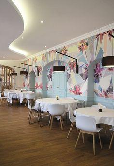 ~ The Grand Design ~ : Photo Public Restaurant, Restaurant Design, Restaurant Ideas, Laura Lee, Design Commercial, Restaurants, Architecture Design, Interior Design Images, Home Wallpaper