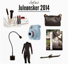 Min Ønskeliste l Jul 2014 på aseaofinspiration.blogspot.com