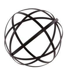 Urban Trends Metal Orb Dyson Sphere Design Decor