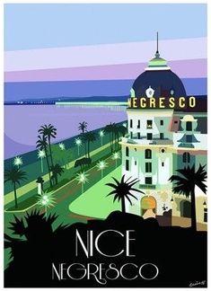The Famous 'Hotel Negresco' • Nice, France 🇫🇷