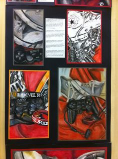N5 folio (2nd sheet A2) Buckhaven HS Student Art Guide, Ap Studio Art, Sketchbook Pages, A Level Art, High School Art, Ap Art, Sketchbook Inspiration, High Art, Art Portfolio