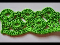 "How to Crochet * Crochet Stitch ""Rings of Love"""