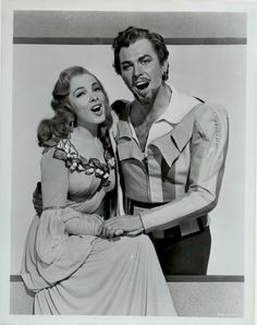 """Kathryn and Howard. This is the picture Kathryn sent me, inscribed with """"To Isabel-Blessings Always. Kathryn Grayson,"""" and it's on my bedside table. It's my inspiration to one day play Kate."""