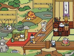 Tubbs is one of the many cats you can collect in the game Neko Atsume: Cat Collector. | The Internet Can't Decide How It Feels About Tubbs The Cat