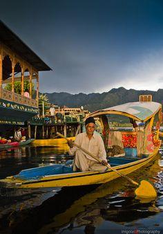 Srinagar Boatman