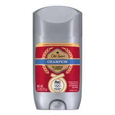 Old Spice Olympic themed packaging.