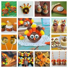 Kitchen Fun With My 3 Sons: 20 of the Best Thanksgivng Fun Food Desserts! Fun Desserts, Dessert Recipes, Kid Recipes, Wedding Desserts, Thanksgiving Parties, Thanksgiving Recipes, Thanksgiving Appetizers, Thanksgiving Activities, Christmas Recipes