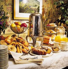 breakfast buffet idea