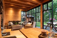 Warm Industrial, Industrial House, Backyard, Patio, Pool Houses, Prefab, Conservatory, Jacuzzi, Sweet Home
