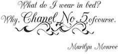 Vinyl Wall Window Decal Sticker Marilyn Monroe Chanel No.5 Quote, http://www.amazon.com/dp/B00E3H3E5Y/ref=cm_sw_r_pi_awdm_x-xvub17FB40A.  amazon.com
