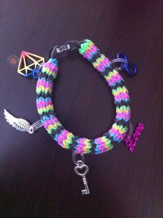 Hexafish bracelet with claire's charms :)