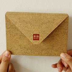 20pcs/lot Life kraft paper envelopes vintage postcards to receive invitation letter envelope bag