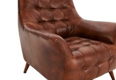 Relax with a Martini in this seriously cool Premier Chaser leather armchair #home #decor #lounge
