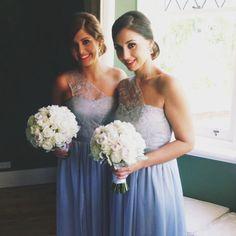 Beautiful bridesmaids in custom Jaimie Sortino