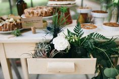 Botanical wedding inspiration | photo by  Aubrey Renee Photography | 100 Layer Cake