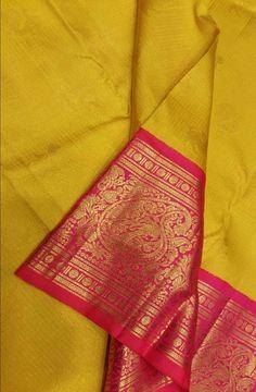 Green Handloom Kanjeevaram Pure Silk Saree #kanjeevaramsaree#traditionalwear#graceful#indiantradition#womenwear#ethnic#festivalcolors#sareefashion#kanjeevaram# Drape Sarees, Saree Draping Styles, Silk Saree Kanchipuram, Handloom Saree, Indian Party Wear, Indian Bridal Wear, Pure Silk Sarees, Cotton Saree, Ethnic Sarees
