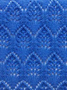 Lace Knitting Stitch Pattern                                                                                                                                                      More