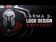Arma 3 Gaming Logo Design - YouTube