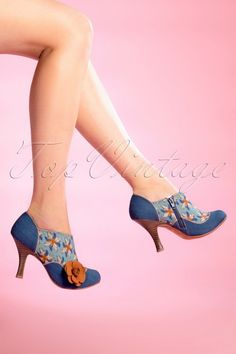 f1589c24557f Ruby Shoo Reese Teal Shoe Boots 430 39 15779 Joelle 08192015 02W Schuh  Stiefel, Retro