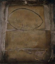 Las diez obras clave de Antoni Tàpies - Gran óvalo 1955