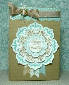 Image result for stampin up daydream medallions card ideas