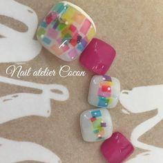 Toe nail art design idea | ideas de unas | pedicure nails ideas
