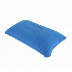 1pcs Inflatable Pillow Travel Air Cushion Camp Beach Car Plane Head Rest Bed Sleep for Outdoor Sports